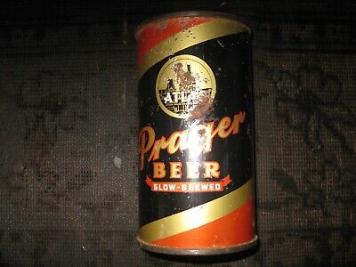 Atlas Prager flat top beer can...Chicago, Illinois