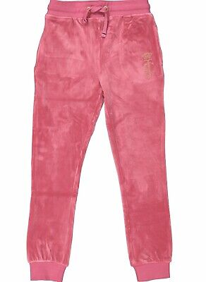 New With Tags Juicy Couture Super Soft Velour Joggers Rrp £65 Age 12