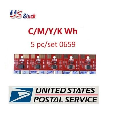 Chip Permanent for Mimaki UJF3042/UJF6042 LH100-0659 UV Cartridge 5colors-CMYKWH