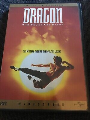 Dragon: The Bruce Lee Story (DVD, 1998, Collectors Edition Widescreen)