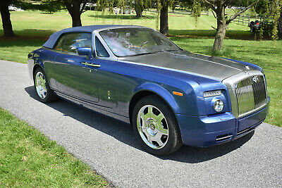 2008 Rolls-Royce Phantom Jerry Weintraub's Rolls Royce Drophead Coupe JERRY WEINTRAUB'S 2008 ROLLS ROYCE DROPHEAD COUPE IN EXCELLENT CONDITION (VIDEO)