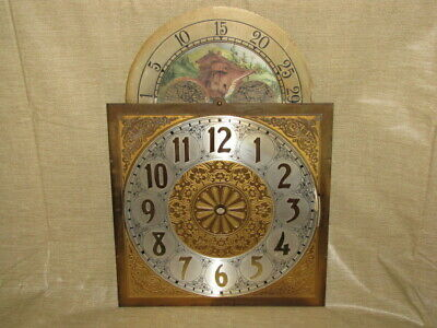 Vintage Grandfather Clock Movement (Moon Phase)