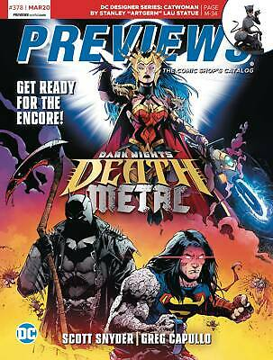 Previews #380-381 May June 2020 (2020 Diamond Publications) First Print