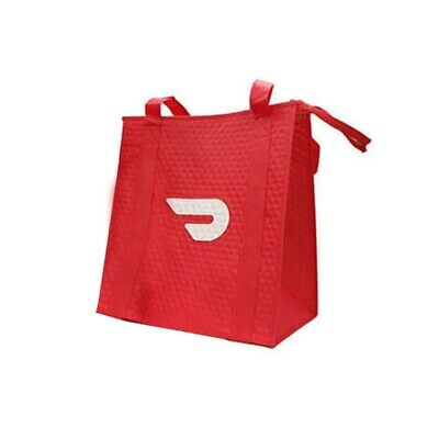 DoorDash Food Delivery Insulated Bag With Zipper NEVER USED