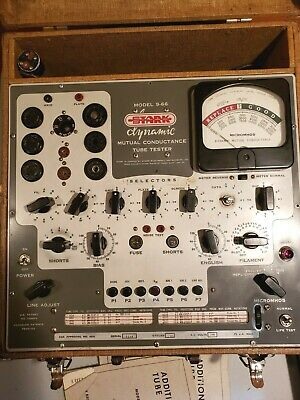 STARK model 9-66 dynamic Mutual Conductance Tube Tester from ESTATE