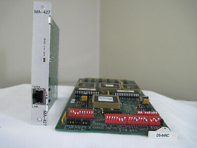 Harris Intraplex Ds-64Nc Card And Ma-427 Adapter