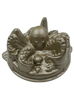 Nordic Ware Octopus Cake Pan Mold 10 Cup Williams Sonoma Retired