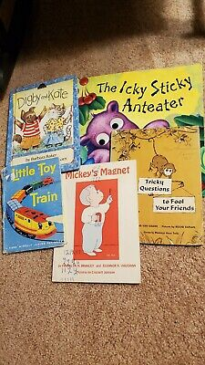 Childrens Bedtime Books - LOT OF 5 - Story time Sets - Paperback Hardcover