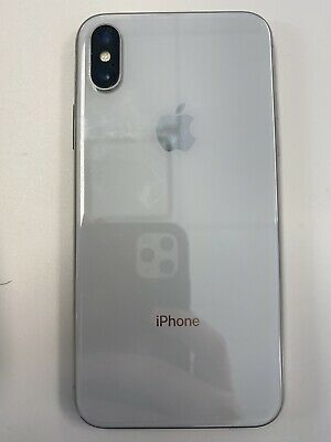 Apple iPhone X 64GB White Unlocked Excellent Condition