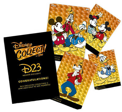 Topps Disney Collect - D23 Exclusive Mickey & Pals - Complete Set *Digital*