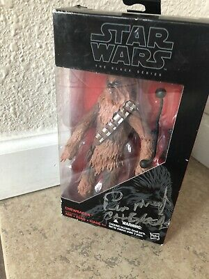 Signed By Peter Mayhew!! Star Wars Chewbacca Force Awakens #05 Black Series 2015