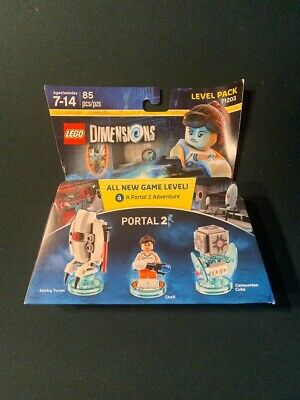 "LEGO Dimensions ""Portal 2 Level Pack"" - 71203 - Portal 2 - New, Factory Sealed"