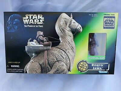 1997 Kenner Star Wars Ronto and Jawa Exclusive Action Figure POTF New