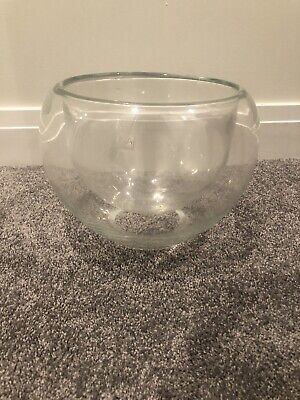 LSA Hand Crafted Glass Bowl