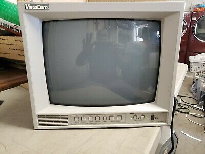"JVC TM-A13SU 13"" Composite Color CRT Video Monitor -"