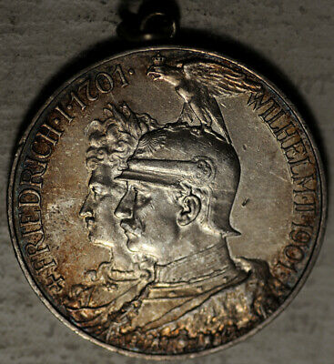 Germany Prussia Silver 5 Mark 1901