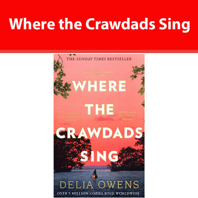 Where the Crawdads Sing by Delia Owens Literary Fiction Paperback NEW