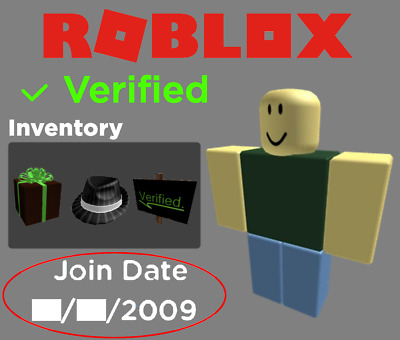 ✅Verified 2009 Roblox Account /W Perfectly Legitimate Business Hat (4K Value)