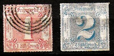 Thurn and Taxis - N District - 1865 Rouletted - Used