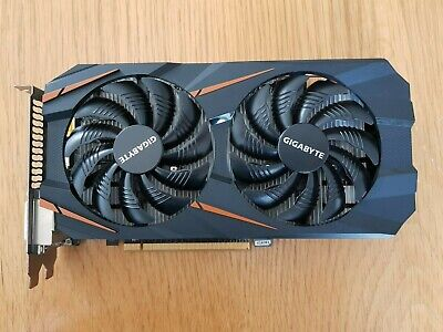 Gigabyte GeForce GTX 1060 WINDFORCE OC 3GB (GV-N1060WF2OC-3GD)