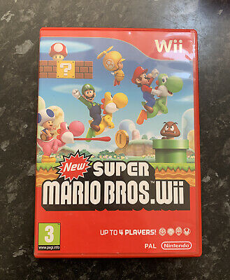 New Super Mario Bros. Wii Game (Nintendo Wii, 2009)