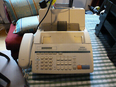 Fax machine with phone line