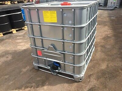 IBC tanks 1000L (galvanised stainless steel case) Read description