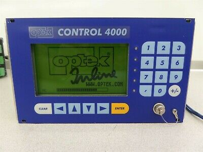 Optek Control C4000 Photometric Analyzer Converter w/ Mounting Brackets