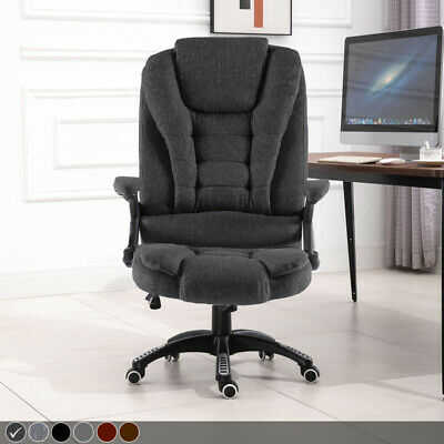 Leather Executive Gaming Computer Desk Office Swivel Recliner Chair
