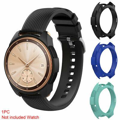 Round Protective Case Shockproof Waterproof Watch Silicone Cover Band for GALAXY