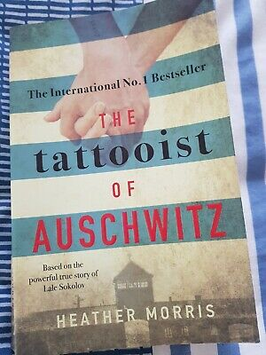 The Tattooist of Auschwitz paperback book by Heather Morris