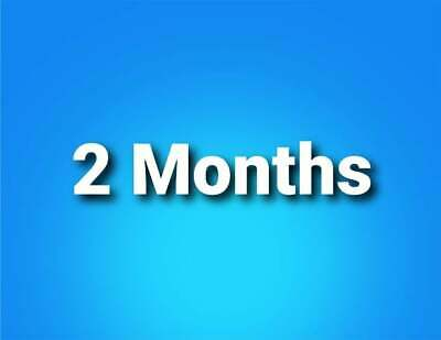 PS 2 Month PlayStation Plus PS4-PS3 -  | 4 14-Day Membership No Code.