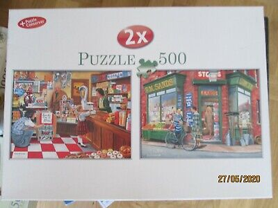 Jigsaw Puzzle 2 X 500 pieces. Puzzle + Conserver. Are You Being Served