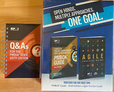 PMBOK Guide 6th Edition + Agile Practice Guide + 352 Page Q&A