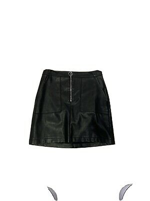 New Look 915 Generation Skirt Faux Leather Age 14