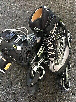 Inliner HEAD Groesse 42, Fitness Softschuh Schuh mit Bremse Inline Skate