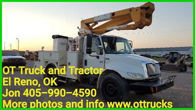 2007 International 4400 44Ft Platform Insulated Hi-Ranger TL44M Bucket Truck
