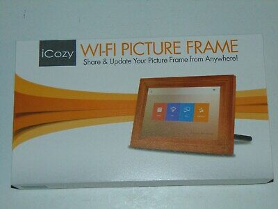 """iCozy Touch screen 10"""" Wi - Fi Picture Frame (New open box)"""