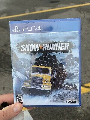 Snowrunner And Maneater PS4 Brand New/Sealed!