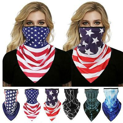Outdoor Cycling Hiking Face Shield Neck Tube Mouth Cover Scarf Bandana Protector
