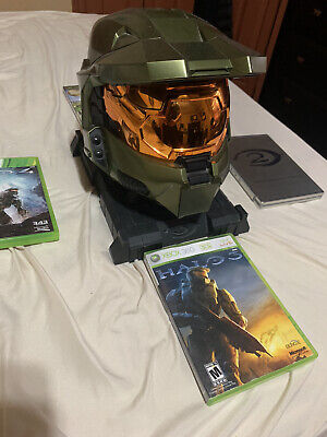 Halo 3 Edition Master Chief Helmet With Games