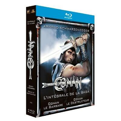Conan The Barbarian + Conan The Destroyer Box Blu-Ray New Blister Pack