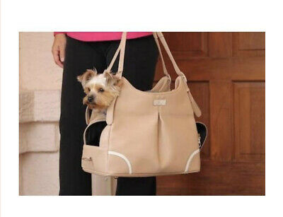 Madison Mia Michele Mocha Dog Carry Bag Doggie Design