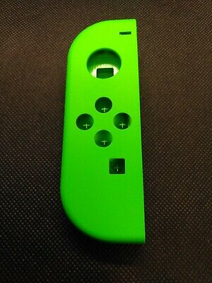 OEM Nintendo Switch Joy Con LEFT NEON GREEN Complete Shells Housings Set 2594