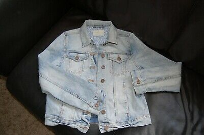 Girls Mini Boden / Johnnie B Denim Jacket Age 13-14 VGC