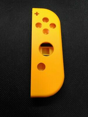 OEM Nintendo Switch Joy Con RIGHT NEON ORANGE Complete Shells Housings Set 2599