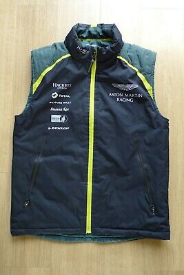 Aston Martin Racing Team Issue Gilet Mens Small