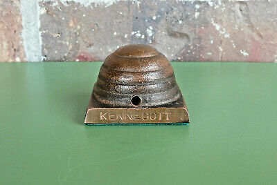 Vintage KENNECOTT Copper Beehive Shape Paperweight Desktop Collectible