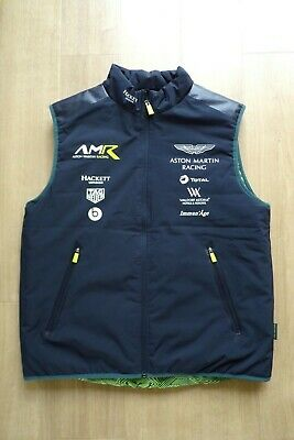 Aston Martin Racing Team Issue Gilet Mens Large