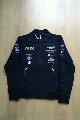 Aston Martin Racing Team Issue Sweatshirt Mens Small New In Bag